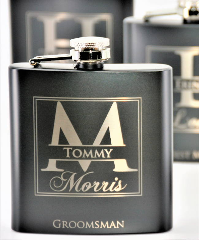 custom engraved flasks