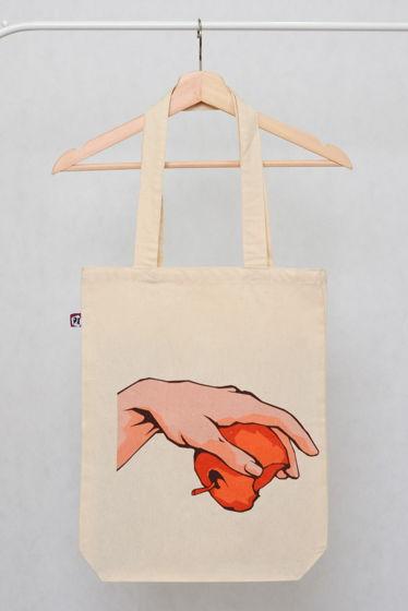 """Вместительная сумка-шоппер """"СОТВОРЕНИЕ part I"""""""