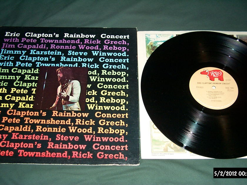 Eric Clapton - Rainbow Concert lp nm gatefold cover
