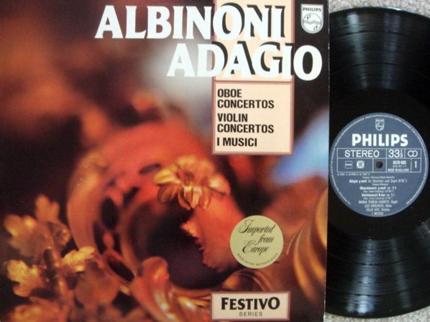 Philips / I MUSICI-AYO-HOLLIGER, - Albinoni Adagio, NM!