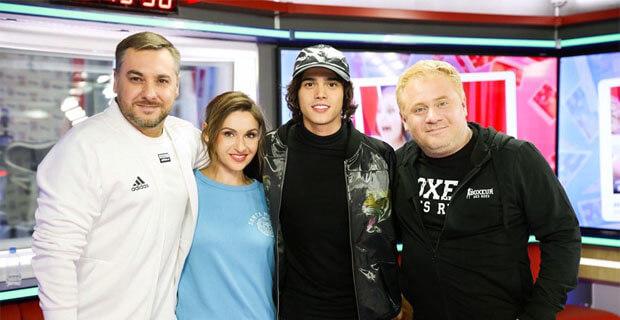 Alekseev в гостях у «Русских Перцев» - Новости радио OnAir.ru