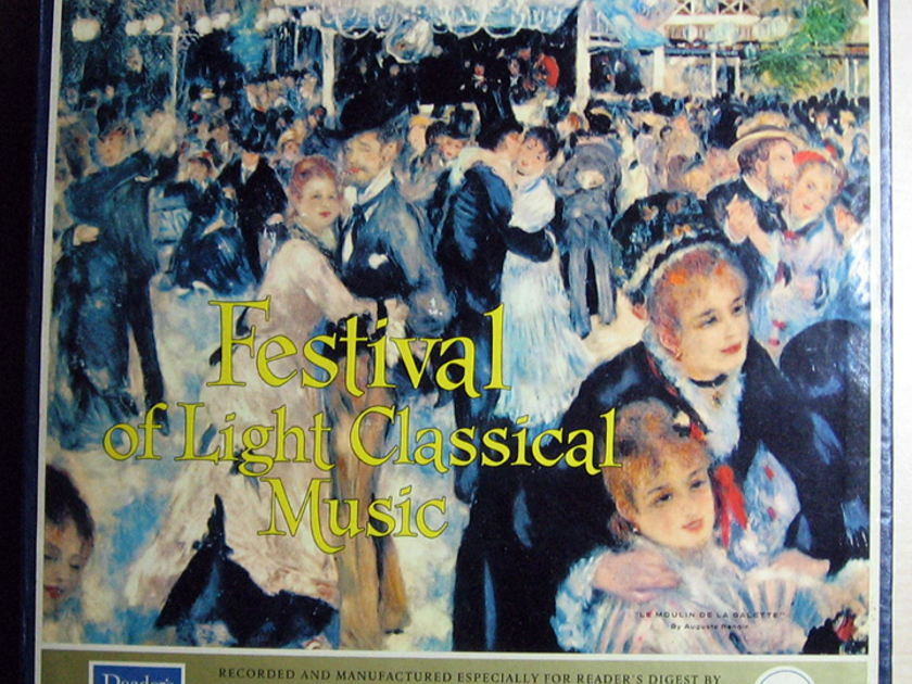 Various - Classical - Festival Of Light Classical Music - 12 Record Set Mono RCA Red Label / Reader's Digest ‎– RDFM
