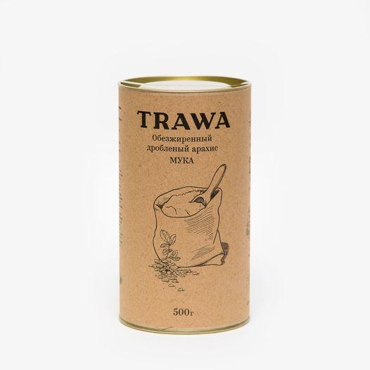 Обезжиренный дробленый арахис (МУКА), 500 гр