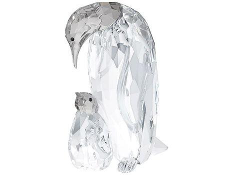 Swarovski Crystal Emperor Penguin and Baby