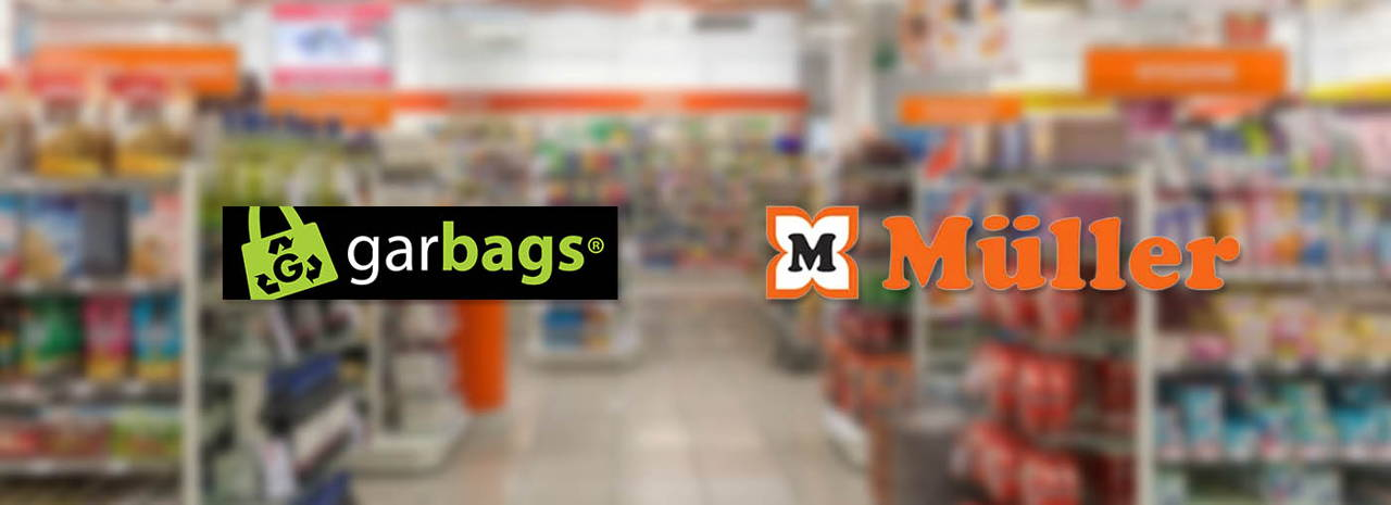Garbags in now available in almost 100 Müller stores in Germany.