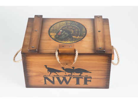 NWTF Chest w/ Rope Handles