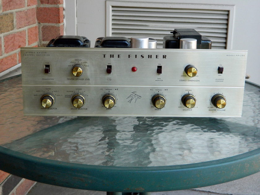 Fisher KX-200 Pilot 240 Fisher FM 100B Lafayette LT-78  Vintage Tube gear with Issues.