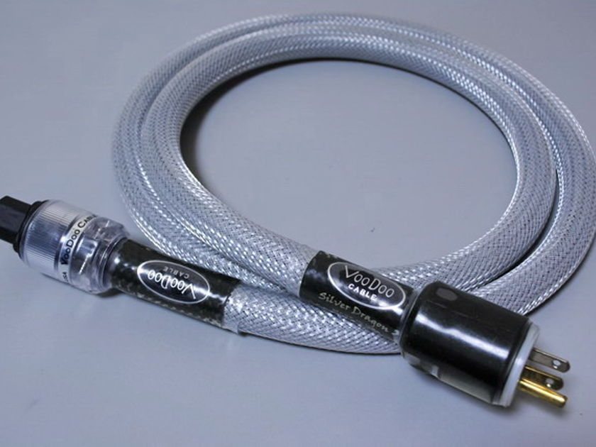 Voo Doo Cable Silver Dragon 3 AC cable 6 feet Excellent condtion