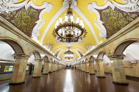 Moscow's famous Metro