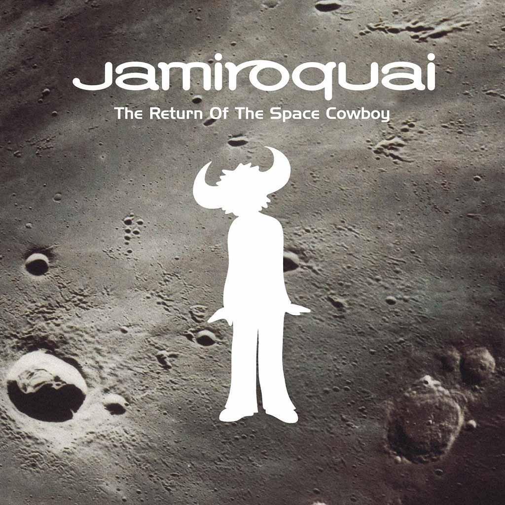 Jamiroquai 'The Return of the Space Cowboy' album cover