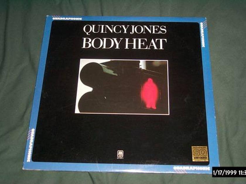 Quincy jones - SQ Quad Body heat lp nm