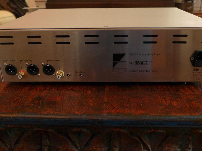 Ayre Acoustics CX7 CD Player