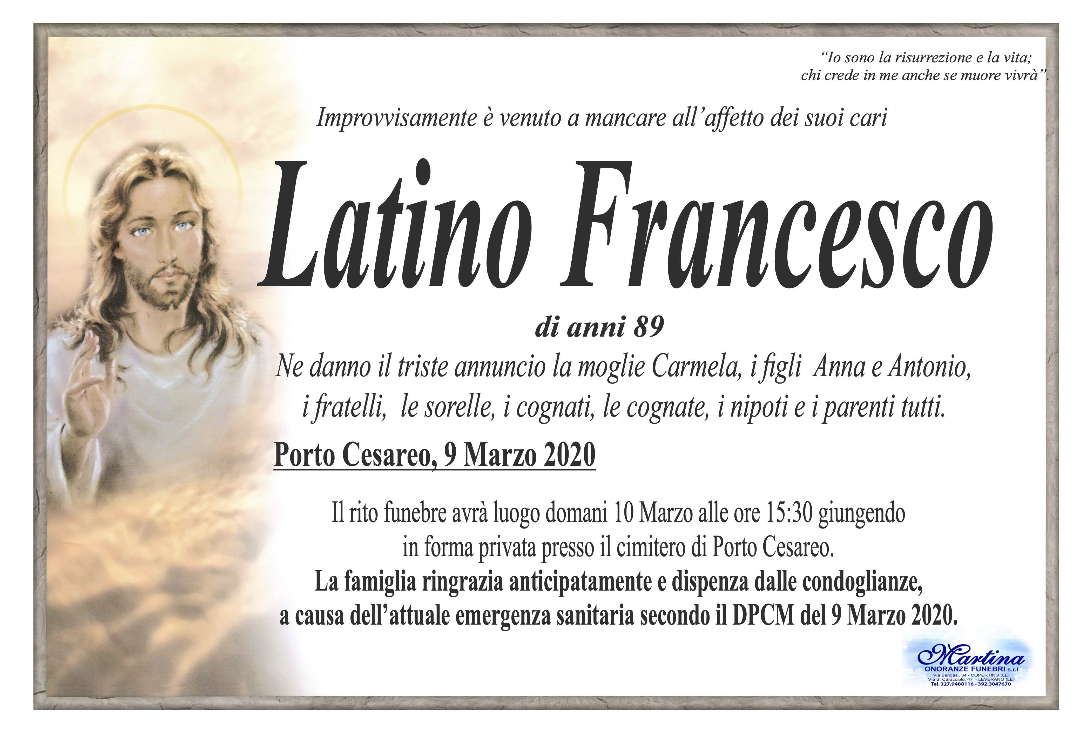 Francesco Latino
