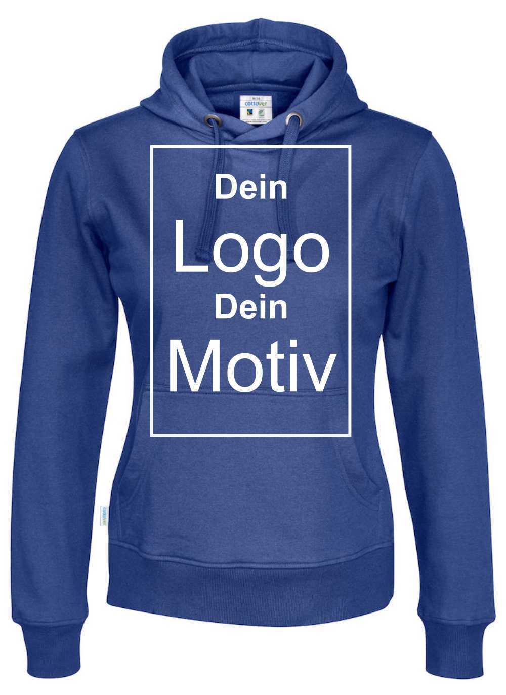 Hoodies mit Firmenlogo besticken | Werbe-welt.Shop