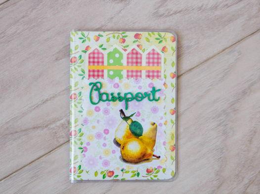 Обложка на паспорт    /различные цвета/