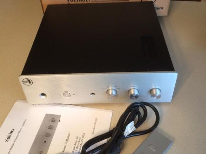Rogue Sphnix v 1   remote /phono COMPLETE  TE