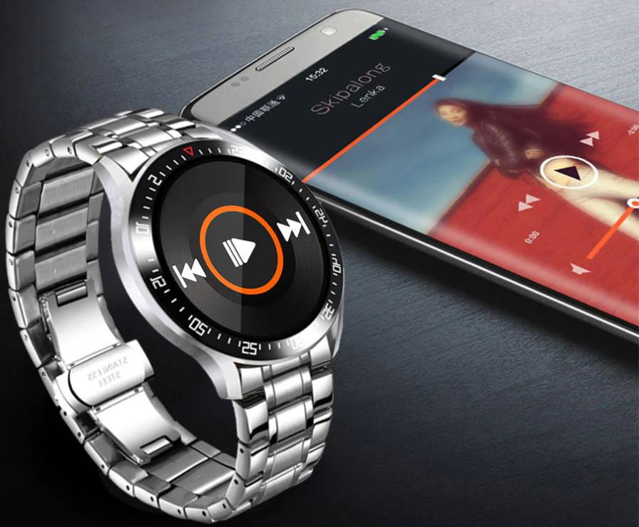 Montres connectées et smartwatch android ou iphone pour homme et femme.
