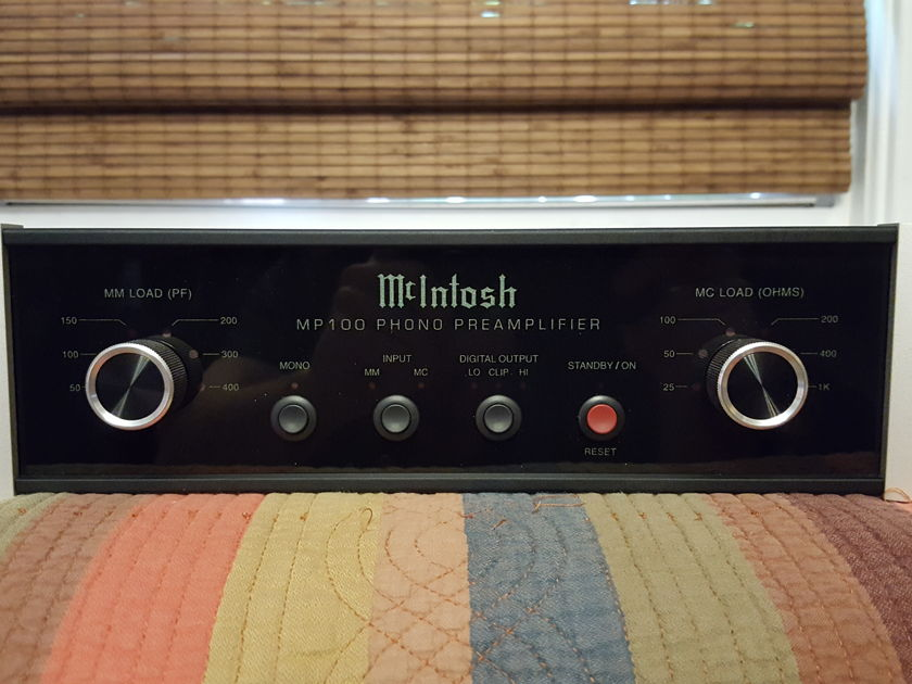 McIntosh MP100 Phono Preamplifier : Trades Considered