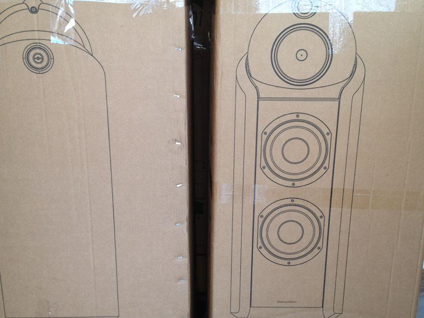 B&W  802 D2 Diamond Rosenut  Latest model w/box,manual&New spike kit/accessories