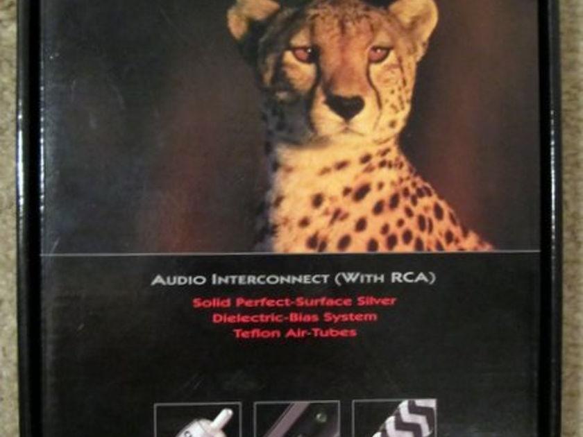 Audioquest Cheetah 1m pair of RCA --> RCA