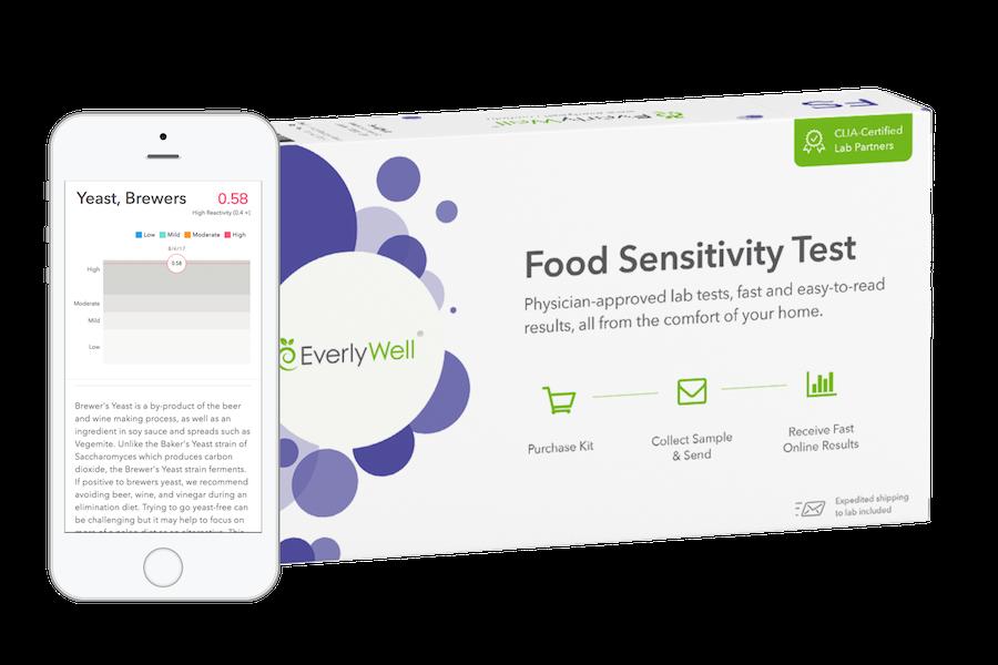 Foodsensitivitydevicemockupphoneandboxcopy