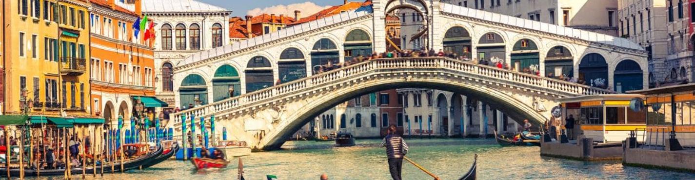 Пешеходная обзорная экскурсия по Венеции в 15:15
