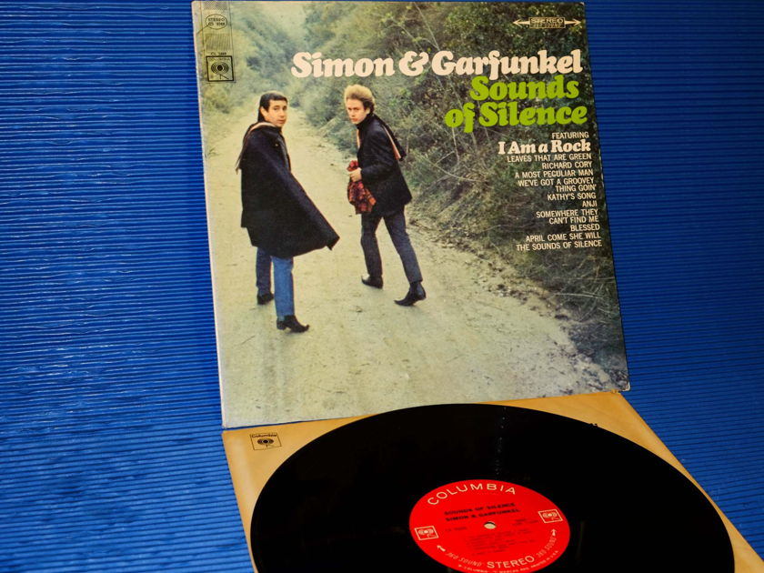 "SIMON AND GARFUNKEL   - ""Sounds of Silence"" - Columbia 1966  '2 Eye' 1st pressing"