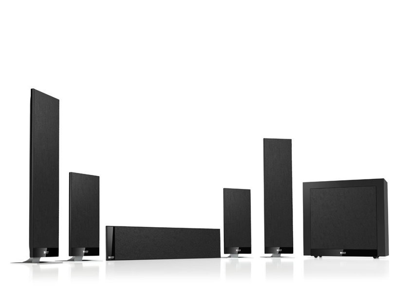 KEF T205 5.1 Home Theater Speaker System. Brand New.