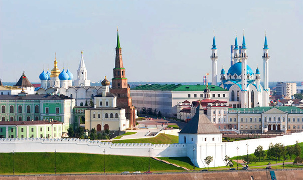 Обзорная по Казани - Кремль – Храм всех религий – Остров-град Свияжск