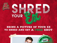 SHRED YOUR EX image