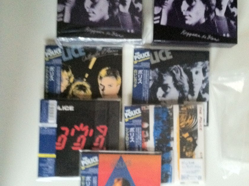 the police  - box sets japan lp cd