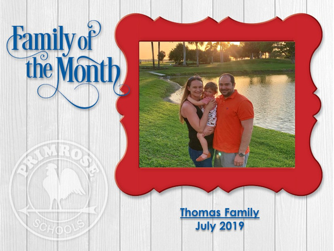 Family of the Month - Thomas Family