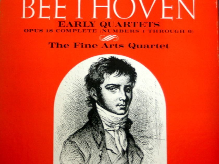 The Fine Arts Quartets - Beethoven The Early Quartets