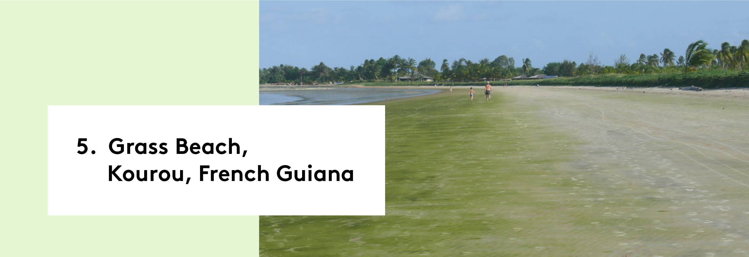 Grass Beach, Kourou, French Guiana