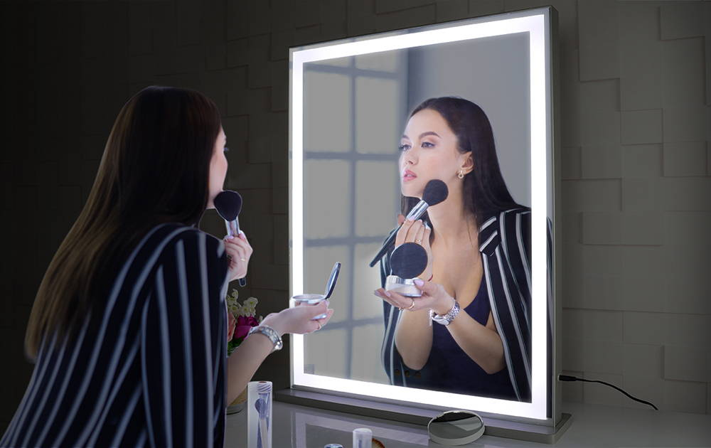 Hollywood Vanity Mirror with LED UV Nail