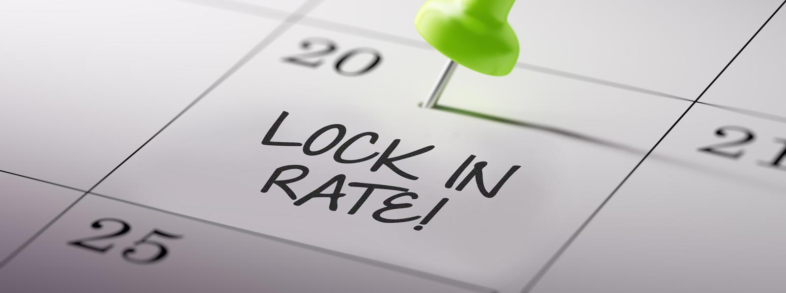 Lock your rate before it's too late