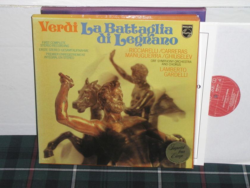 Gardelli/OSOC - Verdi/La Battaglia Philips Import 2lp box 6500