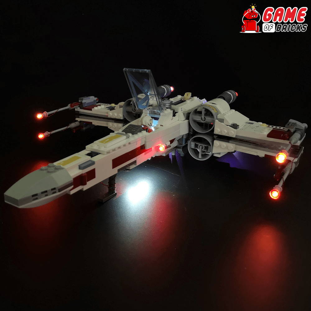 lego night light for STAR WARS X-WING STARFIGHTER 75218