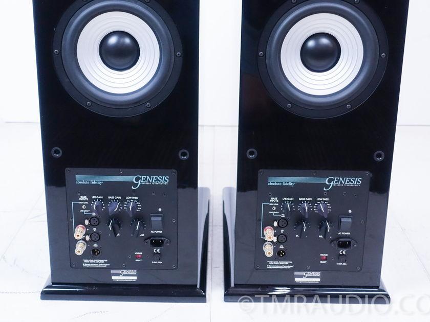 Genesis 5.2s Floorstanding Speakers; Piano Black Pair (8620)