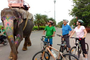 Exciting bike tour of Jaipur