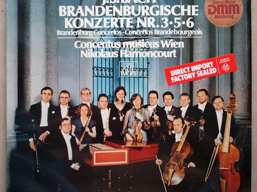 Telefunken/Harnoncourt/Bach - Brandenburg Concertos Nos. 3, 5, 6 / NM