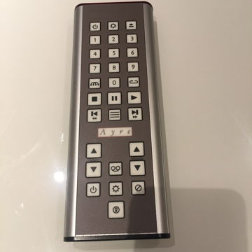 Kx5 twenty metal remote