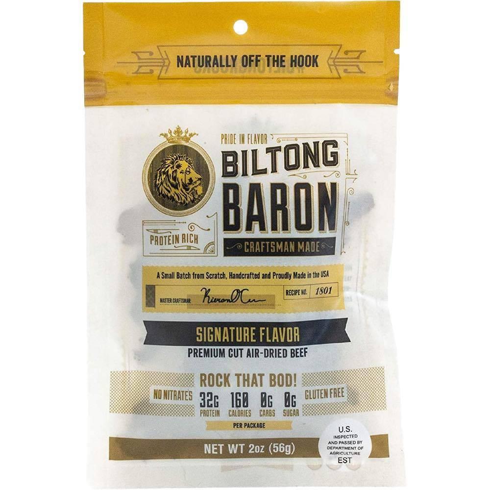 Biltong Baron Signature Flavor