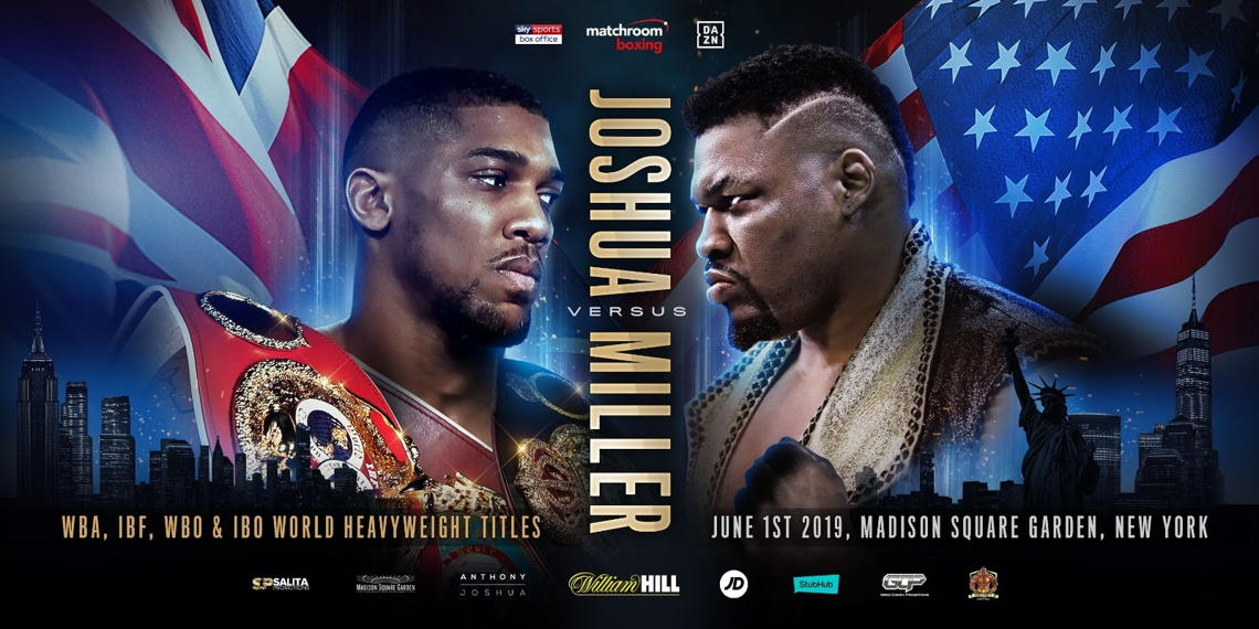 Heavyweight title fights in UK