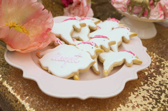 Unicorn Cookies, Unicorn Party Favors