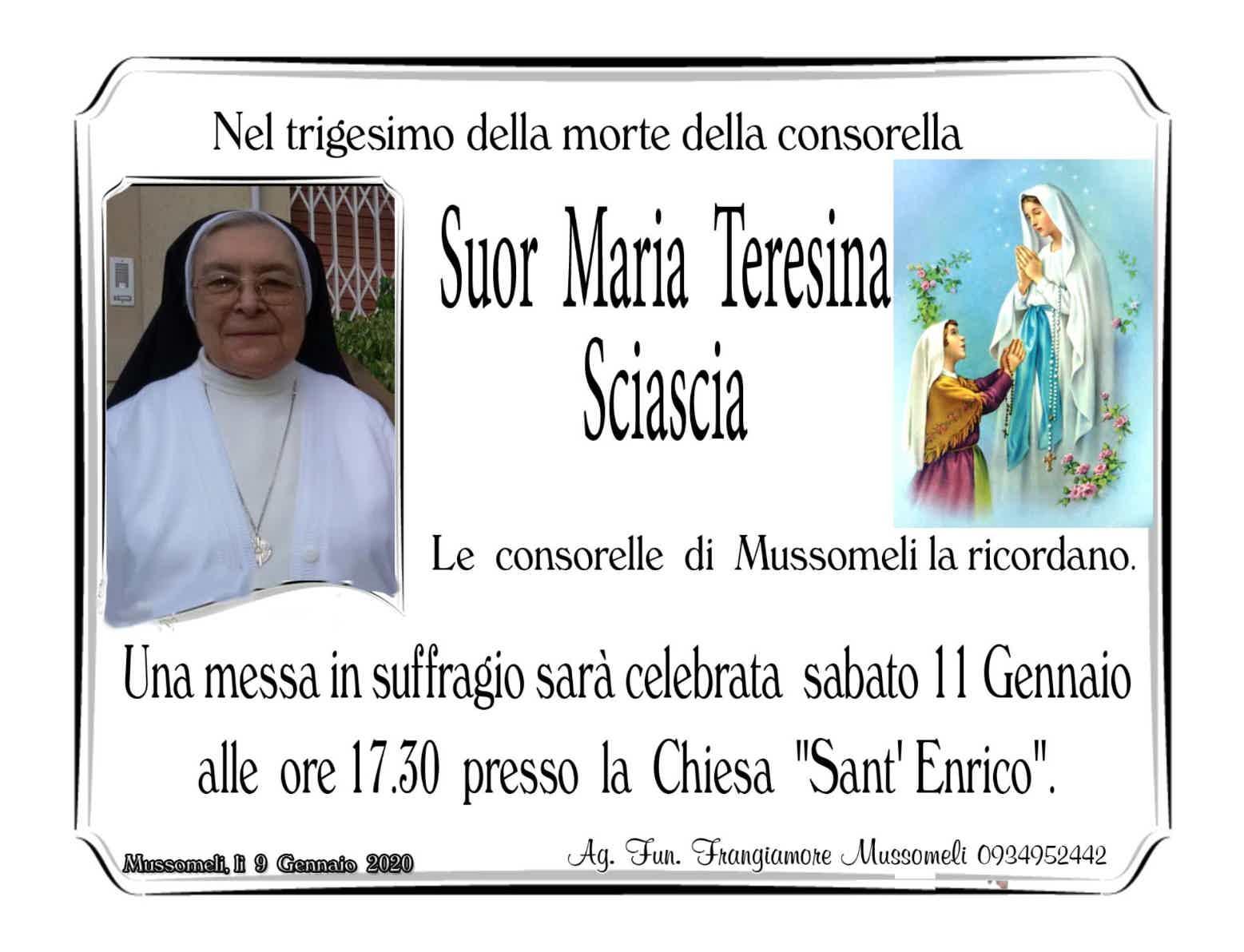 Suor Maria Teresina Sciascia