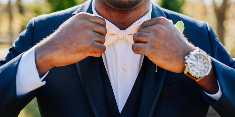 Top Three Tips for Dressing the Groom