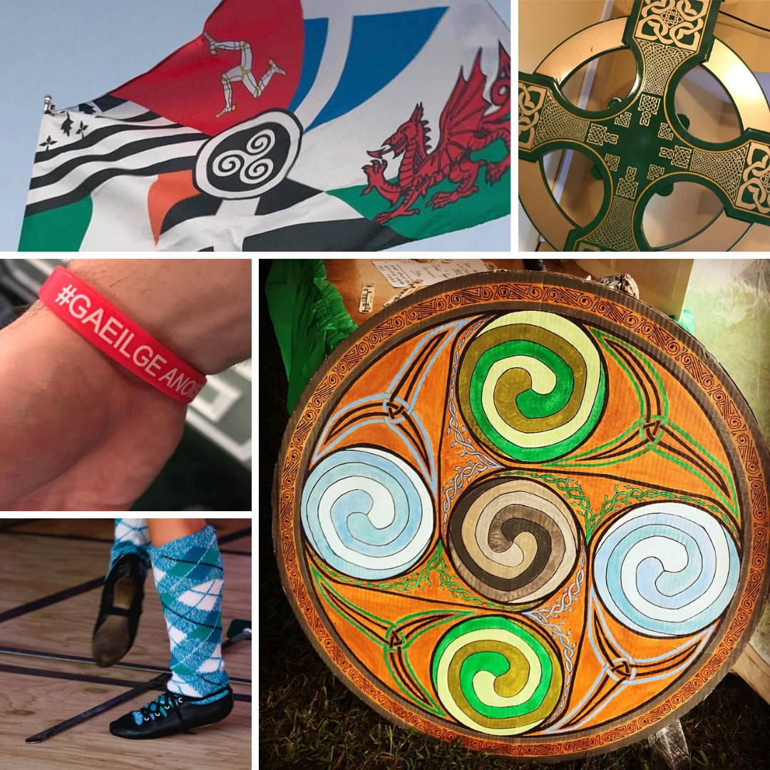 Celtic Festival Online Culture Celtic Flag Gaeilge Celtic Cross Highland Dance Bodhran