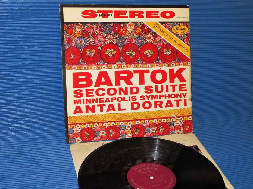"BARTOK / Dorati  - ""2nd Suite"" -  Mercury Living Presence 1958 1st pressing"