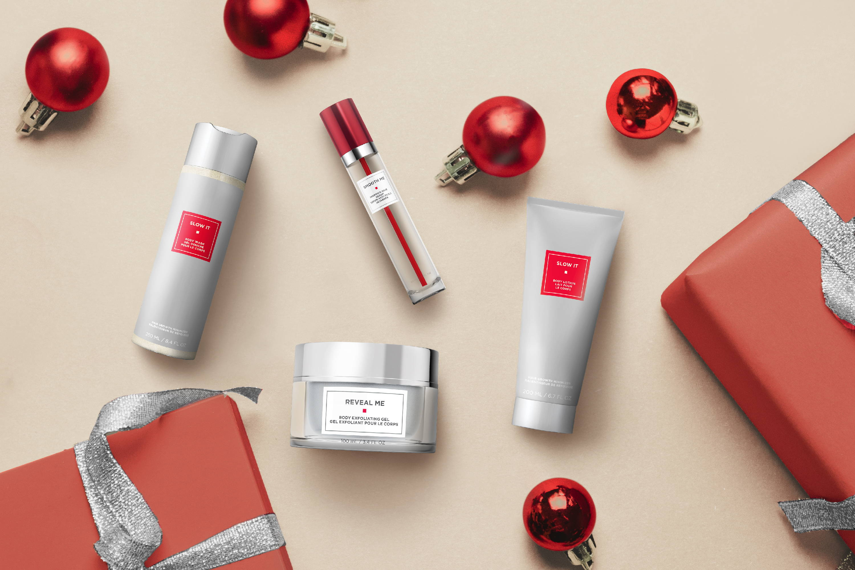 Strut Smoothly® Skincare products for ingrown hairs, exfoliate, and lotion